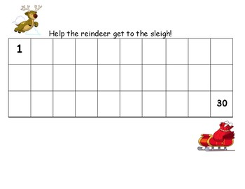 Writing numbers up to 50 throughout the year.