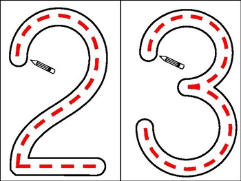 Writing numerals and number words intervention kit