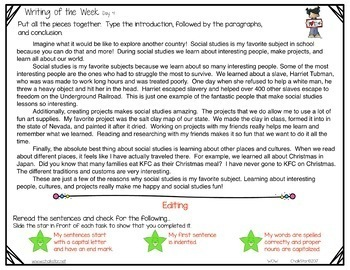 Writing of the Week for PowerPoint™ Bundle