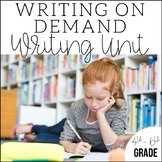 Writing on Demand | 4th, 5th, 6th Grade Test Prep Unit | 4 Weeks of Lesson Plans
