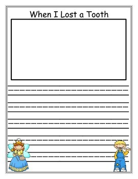 Writing pages and story starters