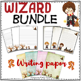 BUNDLE - Writing / drawing paper for wizards ! PACK of 33 sheets