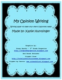 Opinion Writing (paper)
