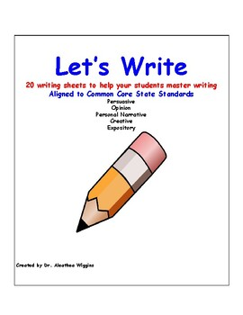 Writing persuasive expository opinion creative (20 pages)