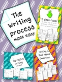 Writing process - The easy way {CCSS aligned}