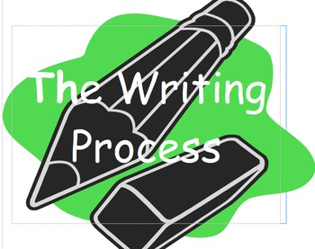 Writing process in steps