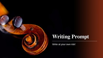 Writing prompt powerpoints