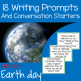 Writing prompts and conversation starters - Environment or Earth Day