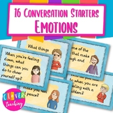 Writing prompts and conversation starters feelings and emotions