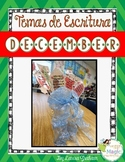 December Writing Prompts in Spanish