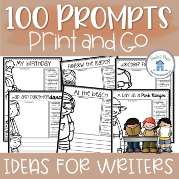 Writing prompts - over 100 prompts