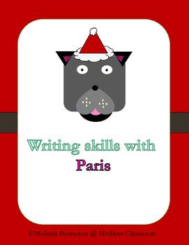 Writing skills with Paris Freebies