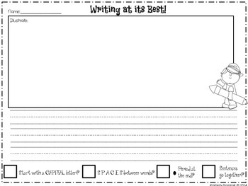 Writing template for your kiddos!