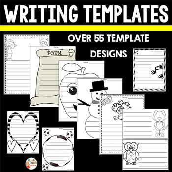 Writing templates    (designed to last the year)