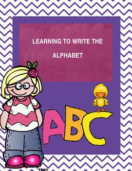 Writing the Alphabet