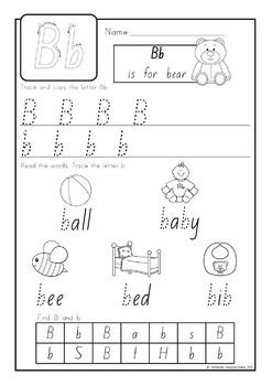 Writing the Alphabet (No Prep)