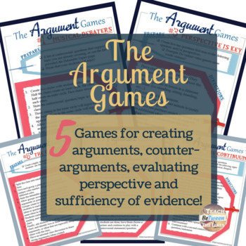 Writing the Argument Essay Complete Unit Bundle + Student Interactive Notebook