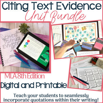 Argument Writing w/ Argument Games and Citing Evidence Game - Distance Learning