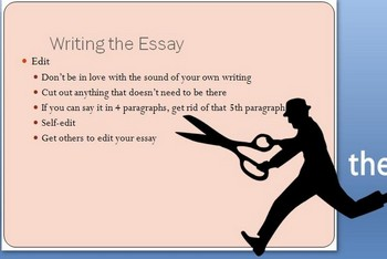 Writing the College Essay Application Powerpoint (19 slides)