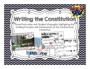 Writing the Constitution Info-Graphic & PowerPoint
