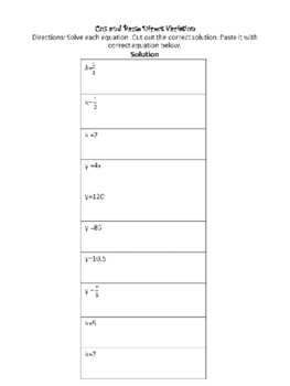 Writing the Direct Variation and finding the constant of variation.