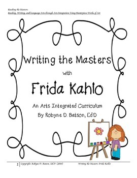 Writing the Masters with Frida Kahlo