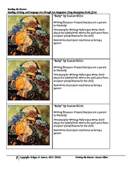 Writing the Masters with Gustav Klimt