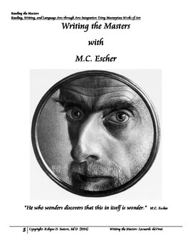 Writing the Masters with M.C. Escher