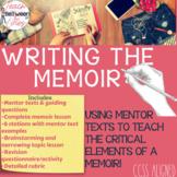Writing the Memoir- Complete Unit Bundle