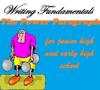 Writing the Power Paragraph {Common-Core Aligned -- Differentiated}