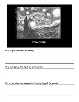 Writing through Art:  Get your students excited about writing!