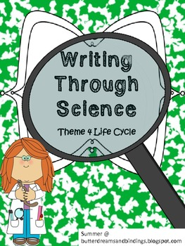 Writing through Science Animal Life Cycle (2nd Grade Common Core)