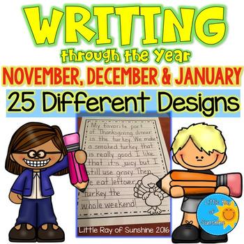 Writing Paper (Nov, Dec, Jan)