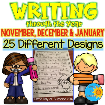 Writing through the Year (Nov, Dec, Jan)