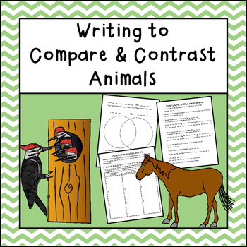Compare and Contrast Writing (Animals)