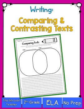 Writing to Compare Texts