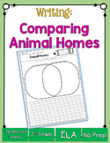 Writing to Compare: Two Animal Homes