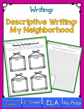 Writing to Describe: My Neighborhood
