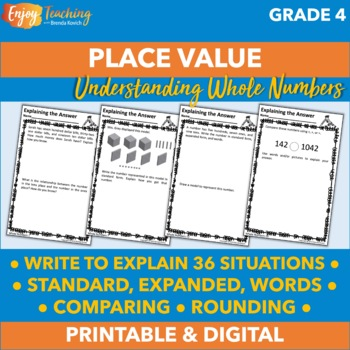 Writing to Explain Whole Numbers