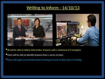 Writing to Inform