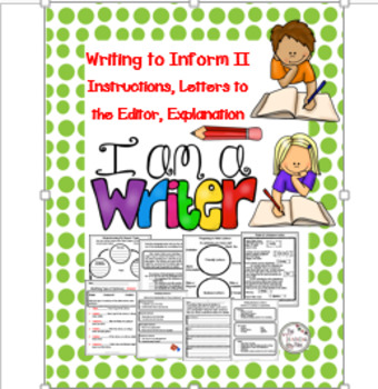 Writing to Inform II Letters to the Editor, Persuasion, In