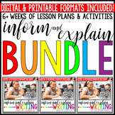 Writing to Inform and Explain: The Bundle