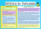Writing to Persuade - Teaching Author's Purpose Poster Pack