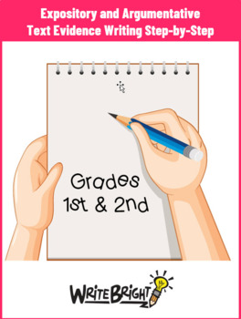 Gr 1-2 Writing to Sources Student Pack Common Core Explanatory Persuasive