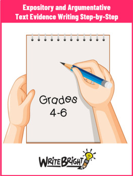 Gr 4-6 Writing to Sources Student Packet Common Core Expla