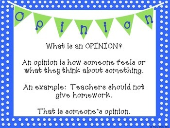 Writing to Support an Opinion - W 2.1/ W 3.1 Activities, task cards, and more!