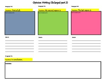 Writing to Text Planning Frame