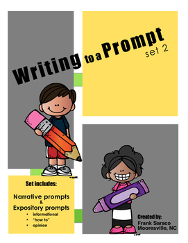 Writing to a Prompt - Set 2