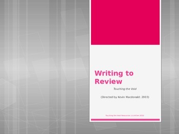 Writing to review
