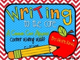 Writing to the Core: A Writing Content Word Wall Aligned t